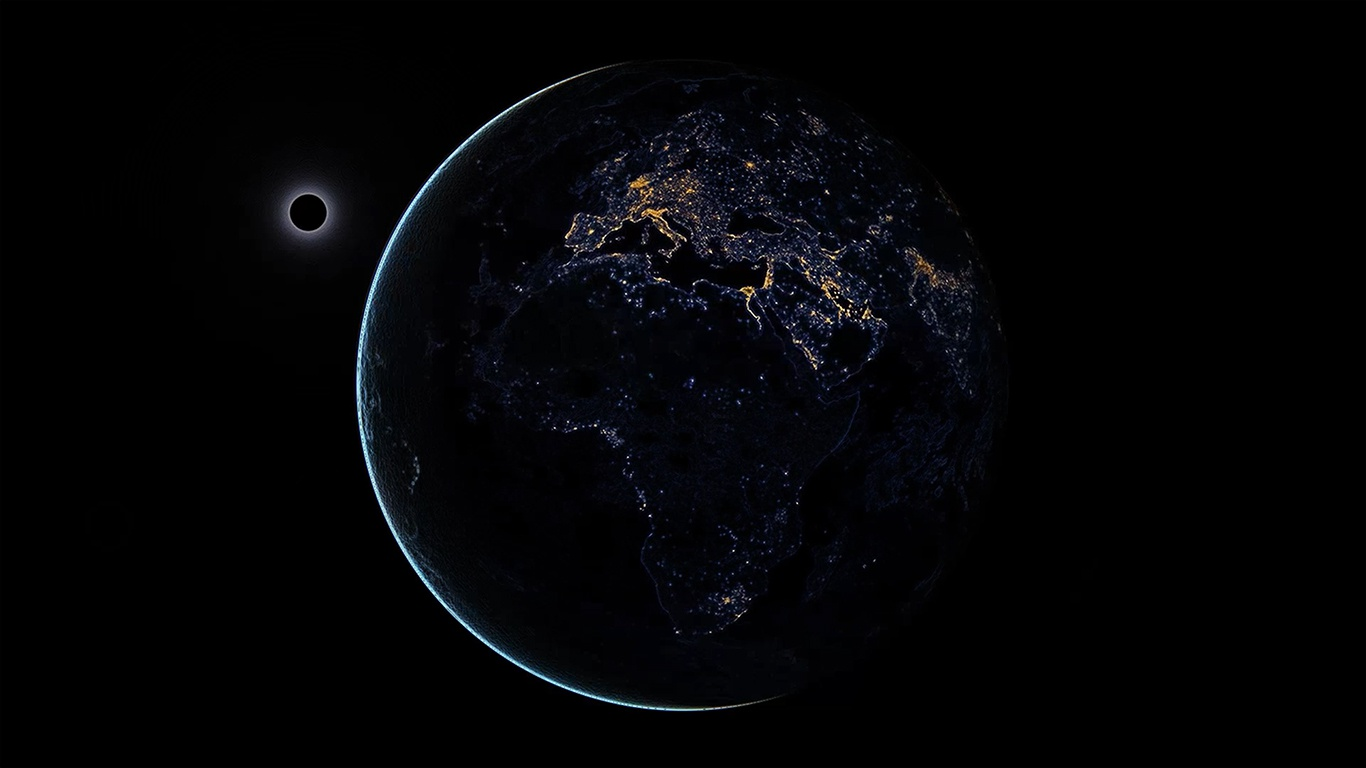 EARTH in SPACE ( DeskScapes )