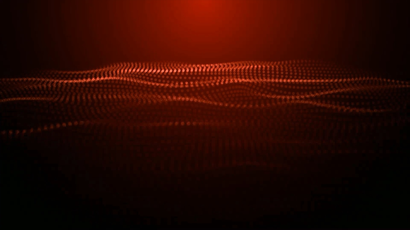 RED WAVES ( DeskScapes )
